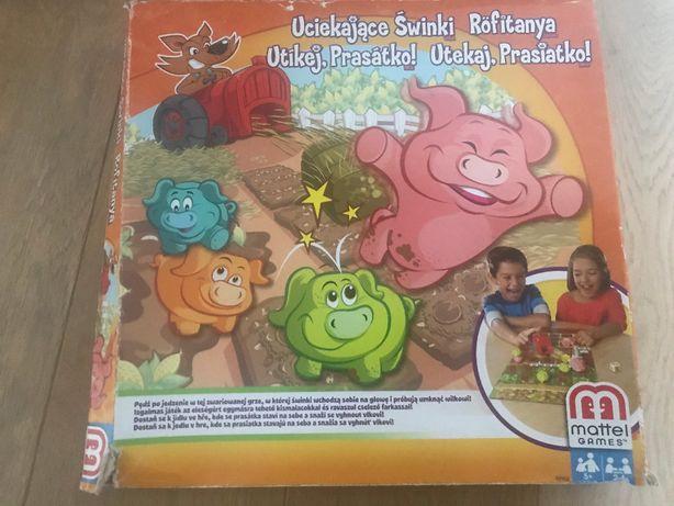 Gra Uciekające świnki