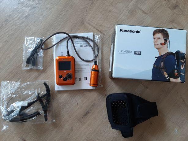Kamera sportowa Panasonic HX-A500 4K Full HD nie GoPro Sony ActionCam