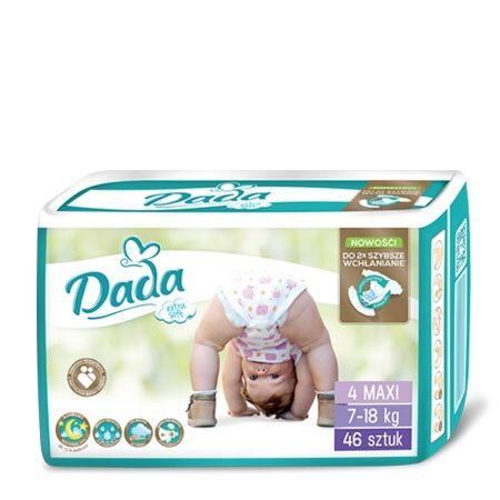 Памперсы Dada 4,4+,5