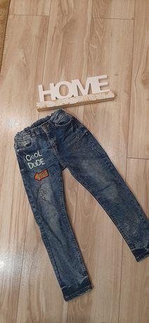Spodnie jeansy 116