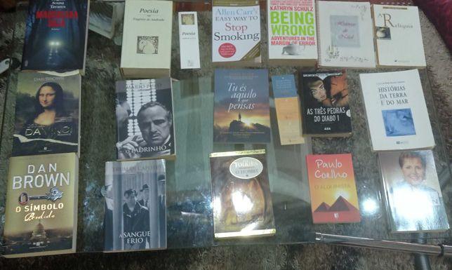 Livros Diversos - Maioria 5€
