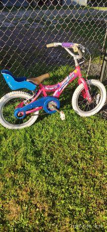 Rower 16'' dla dziewczynki