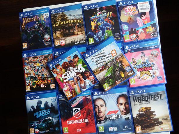 PS4 GRY BEZ PRZEMOCY dla młodszych rodzinne WYŚCIGI rożne tytuły