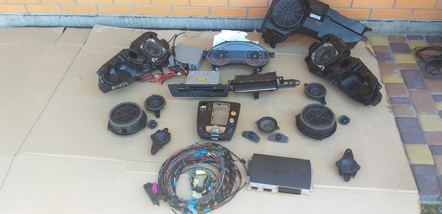 Bose audi a6c7 комплект