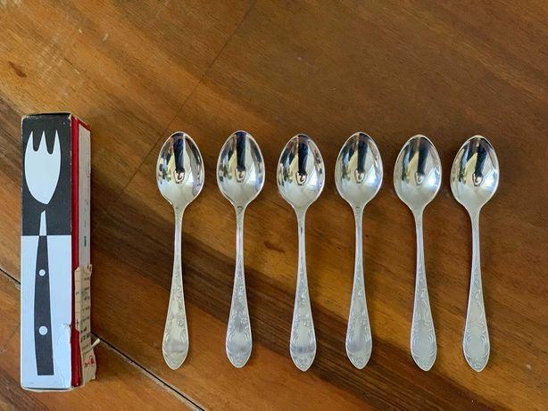 srebrne łyżeczki Hefra model Aleksandra - 6 szt.