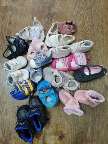 Пинетки, топики, первая обувь