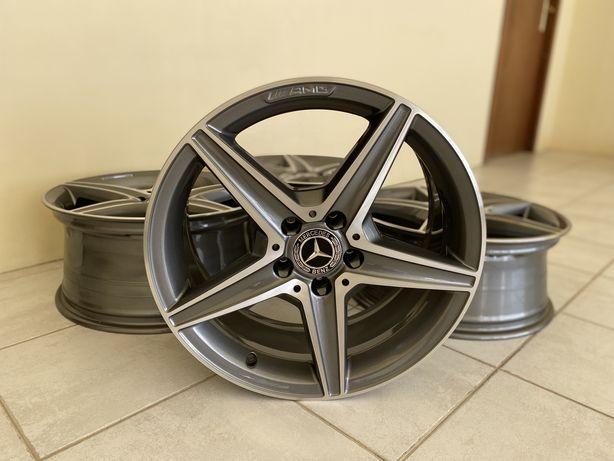"""Jantes 18"""" 5x112 originais AMG 2+2 Mercedes w205 w213 Classe A, C, E,S"""