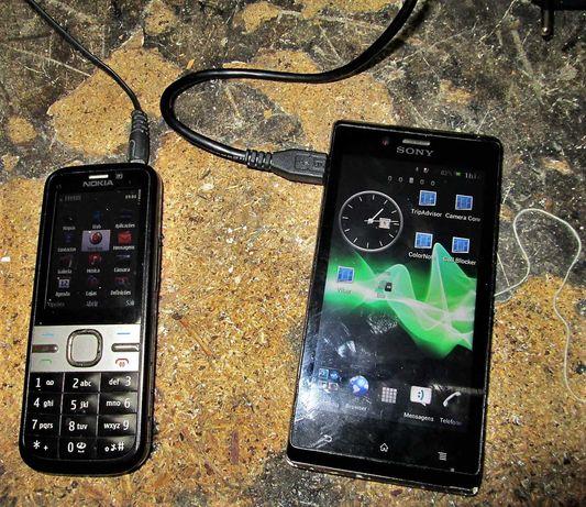 sony xpéria e Nokia c5