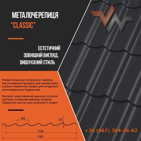 Профнастил, Металопрофіль, Металочерепиця