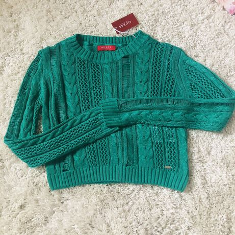 Sweterek ażurowy Guess r. S