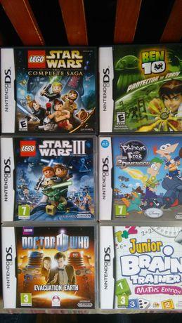 Jogos Nintendo DS 3DS 2DS