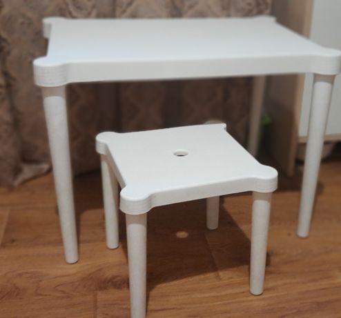 Детский стол и стул икея