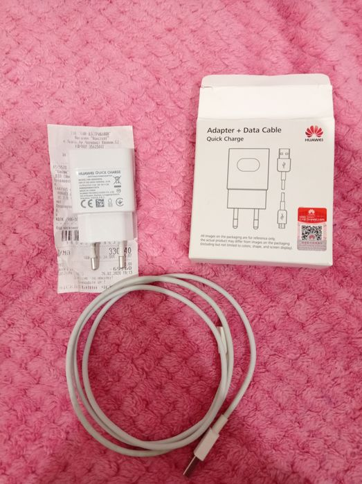 Зарядний пристрій Huawei, USB кабель+блок Львов - изображение 1