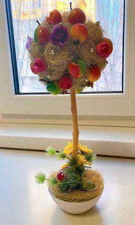 Декоративное дерево, искусственное деревом топиарий