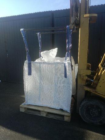 Worki Big Bag Używane do gruzu odpadów budowlanych udzwig 1t 110cm
