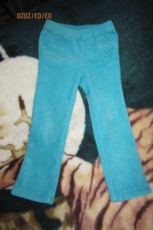 Штаны для девочки джинсы и вельветовые