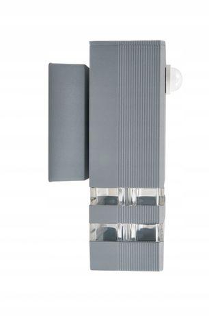 Lampa elewacyjna kinkiet LED GU10 czujnik KE017