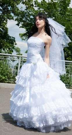 Платье свадебное) не венчаное