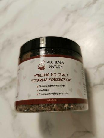 Peeling do ciała czarna porzeczka Alchemia Natury polska marka
