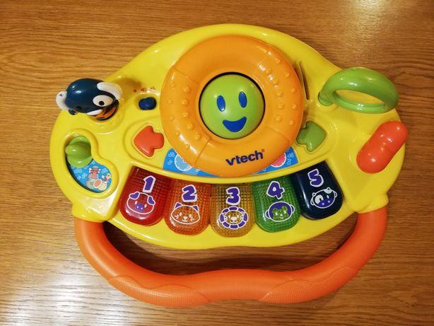 Kierownica interaktywna firmy Vtech