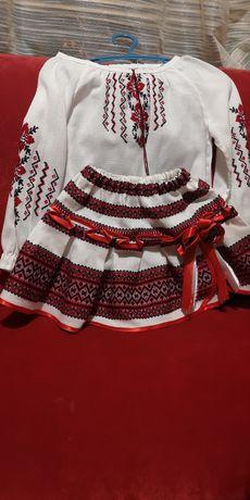 Вышиванка детский украинский костюм с юбка