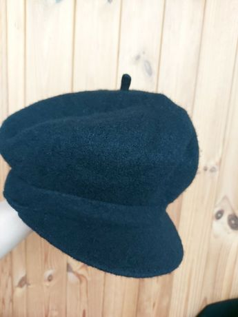Новая шерстяная кепка берет h&m