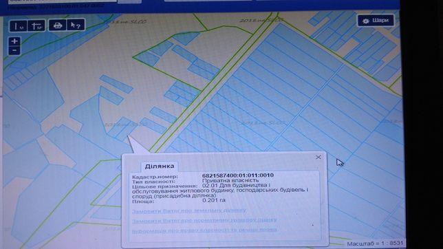 Продам земельну ділянку 0.20 га