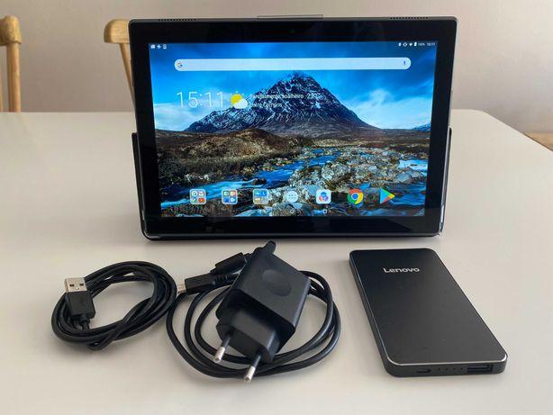 Tablet Lenovo tb-x304f + Cartão 16GB + Powerbank