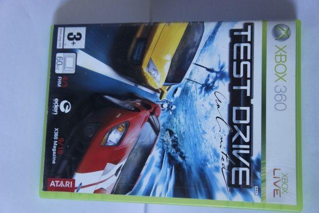 xbox 360 gra test drive