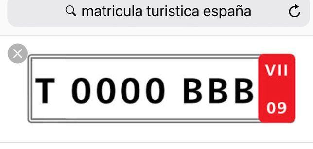 Legalização de veículos matrícula espanhola turística