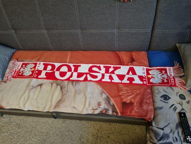 Szalik  Polska  Biało Czerwoni