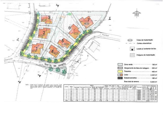 Terreno para construção em Pombal