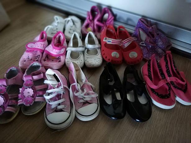 Converse, sandały, trampki, kapcie rozm 25