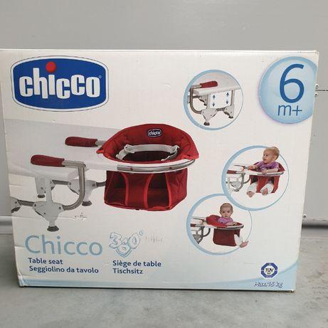 Krzesełko do karmienia przy stole obracane 360 stopni Chicco+gratis