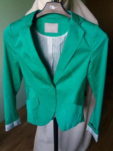 ORSAY xs/s zielony żakiet