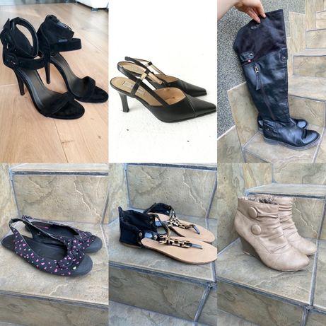 Zestaw butów rozmiar 37-38