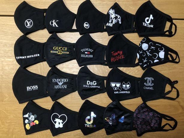 Maski maseczki - wiele wzorów, eleganckie, sportowe, dziecięce