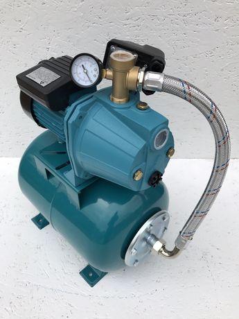 Насосная станция для воды 1.1 кВт насос для полива