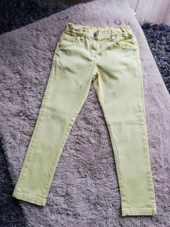 Spodnie materiałowe z regulacją rozmiar 122-128 cm