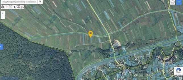 Продається земельна ділянка в смт Ланчин (урочище Забереж)