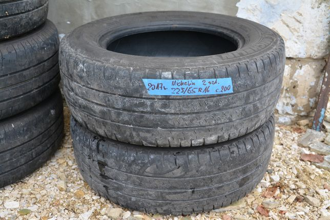 2x Opona Michelin Agilis 225/65 r16C 2017 rok