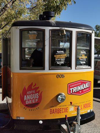 Roulote/food truck/street food - modelo elétrico