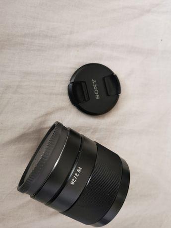 Obiektyw Sony FE 28 mm f/2.0 gwarancja