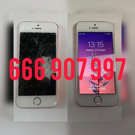 Naprawa telefonów iphone Samsung zbita szybka wyświetlacz bateria wawa