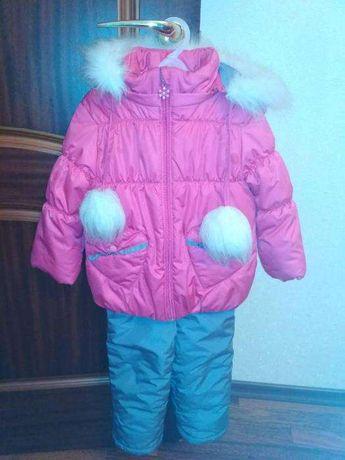 Комбинезон зимний БЕМБІ на девочку