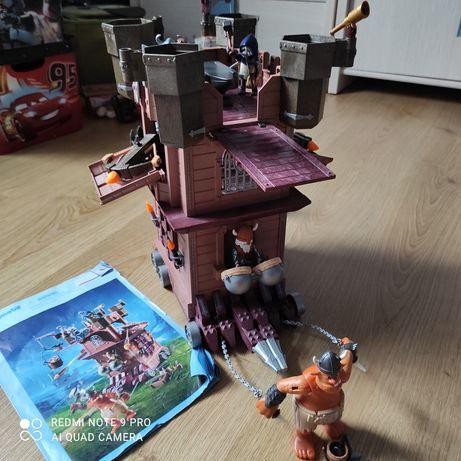 PLAYMOBIL Knights Mobilna forteca krasnoludów.