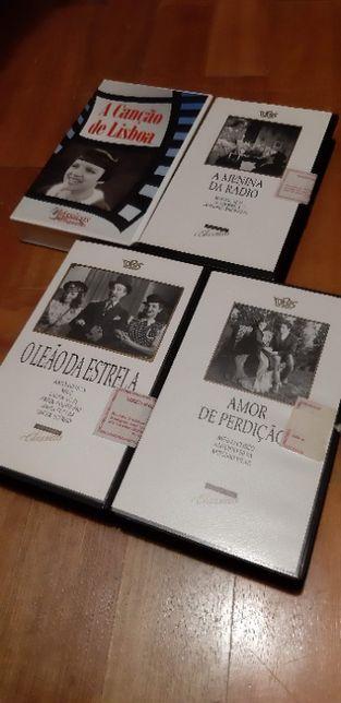 Cassestes VHS Classicos Português