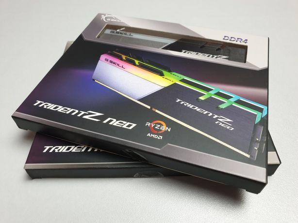 Нова G.Skill Trident Neo 32GB 2x16 4000 CL16 F4-4000C16D-32GTZNA B-die