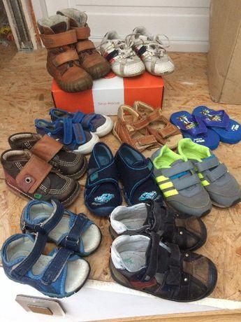 Buty, buciki dla dziecka, chłopca,rozmiary 20-25. Cena za wszystkie.