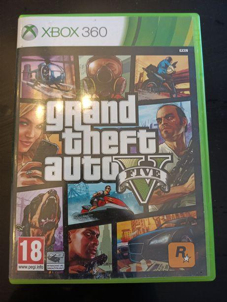 GTA 5 Xbox 360 PL